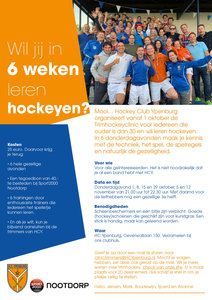 Trimhockey Clinic